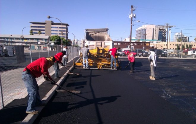 Asphalt Paving, Asphalt Raking, Tack Coat