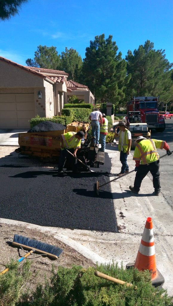 When it comes to paving asphalt, everyone has a role; it is a synchronized group effort. Not only do they work diligently but they do so with the safety of each as a top priority throughout the entire process.