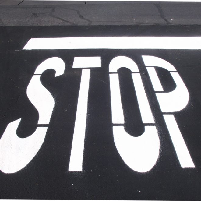 STOP and Give us the Chance to Provide you with Las Vegas' Best Striping and Roadway Signage / Roadway Marking Services