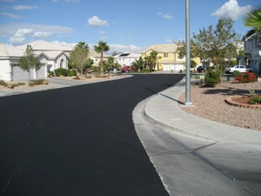 Another Flawless Asphalt Blacktop Resurfacing Done by Preferred Concrete Contracting